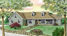 Farmhouse House Plans @ Architectural Designs
